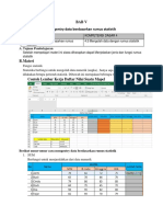 1. BAB V Mengentry data berdasarkan rumus statistik