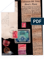720th ROB Warrington letters and docs