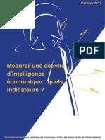 mesurer une activité d'IE Quels indicateurs_
