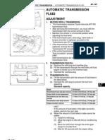 Toyota Fj  Gruiser -Transmission Oil Change Procedure