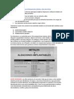 Biomateriales Resumen