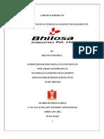 BHILOSA IND