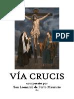 Viacrucis compuesto por San Leonardo de Porto Mauricio