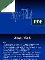 Aços ARBL (HSLA)