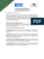 Agenda Formación Tutores Ciclo de Apertura 2021