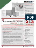 Voltage Stabilizers - Single Phase - 1 to 100 kVA - 220V 230V 240V
