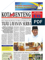 Koran Kota Benteng edisi 2 Tahun 2011