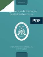 Regulamento de Formação Profissional Contínua(1)