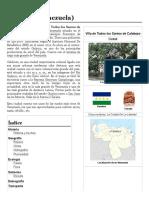 Fundacion de Calabozo-Estado Guarico 3º Año