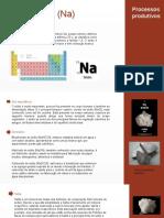 Processos produtivos - elemento químico