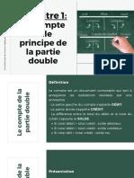 Le compte et le principe de la partie double