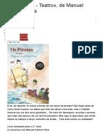 Os Piratas Entrevista Manuel António Pina