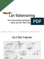 Lijn Balancering(P25)