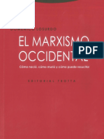 Losurdo - El marxismo occidental