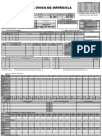 Ficha de Matricula Modelo