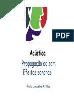 Acustica e isolamento - Efeitos do som_Jacqueline A. Vilela