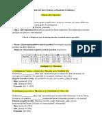 ANÁLISIS ESTRUCTURAL (ANÁLISIS FORMAL) Rorschach