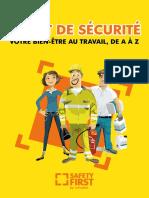 Livret de Sécurité Votre Bien-être Au Travail, De a à z (1)