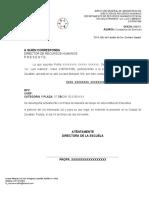 CONSTANCIA DE SERVICIO EJEMPLO