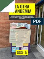 Informe Sanidad La Otra Pandemia