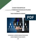 Pedoman Evaluasi Jabatan guna penyusunan TPP