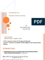Water Content of Soil1