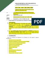INFORME N°001 - subdivision