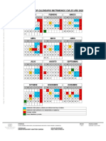 Calendario Fechas Para Reserva de Matrimonios civiles en Córdoba