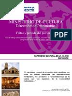 Faltas Contra El Patrimonio 150914
