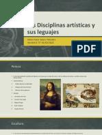 Las Disciplinas Artísticas y Sus Leguajes-Abner Juarez