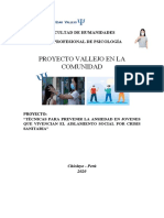 Proyecto_ Intervention in Psychosocial Problems