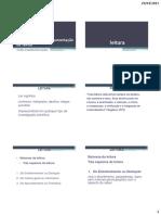 MC- 2 - Leitura, Análise e Documentação de textos
