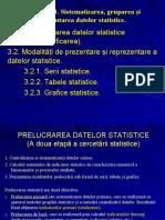 Capitolul III. Sistemetizare, gruparea si prezentarea datelor statistice