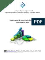 Raport CE Trim III 2020