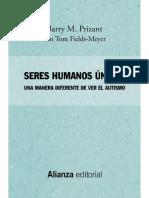 Seres Humanos Únicos - Barry M. Prizant