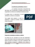 Preparación de Artículos para Esterilizar (1)