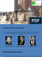 TEORIA DOS JOGOS - Apresentação de Seminario