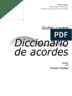 GuitarLovers DiccionarioAcordes 5v0 Es Demo