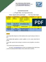 Plan de Evaluación Grupo estable 3er momento