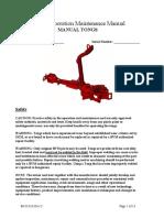 Manual Manual Power Tong