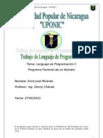 Lenguaje de Programacion C