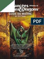 AD&D Guide Du Maitre v2