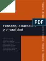 Filosofía Educación y Virtualidad