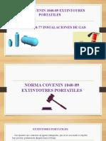 NORMA 1040 riesgo y materiales peligrosos