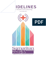 Samaritan Ministries Health Sharing Network Guidelines