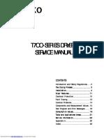 Asko dryer service manual T-700 series