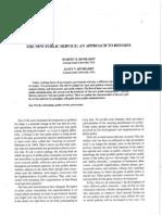 Denhardt-NewPublicService