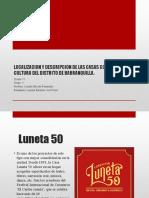 LOCALIZACION Y DESCRIPCION DE LAS CASAS COMUNALES DE