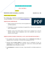 GUÍA 1 DE FÍSICA GRADO 10 2021