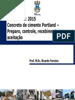 Concreto - Controle Tecnológico Do Concreto_Prof. Ricardo Ferreira